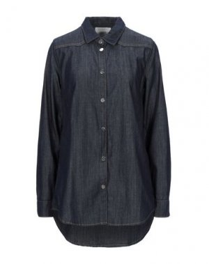 Джинсовая рубашка JUST FEMALE. Цвет: синий