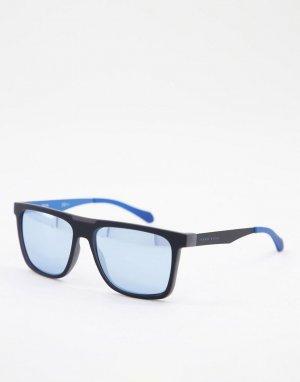 Солнцезащитные очки с квадратными стеклами Hugo Boss 1073/S-Голубой