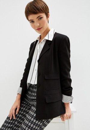 Пиджак Diane von Furstenberg. Цвет: черный