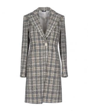 Пальто TONELLO. Цвет: серый