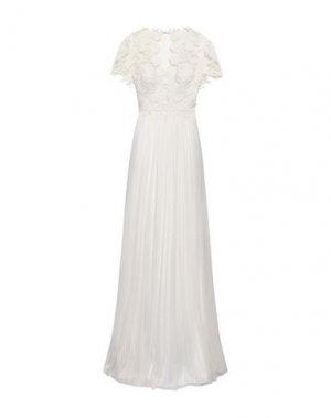 Длинное платье CATHERINE DEANE. Цвет: слоновая кость