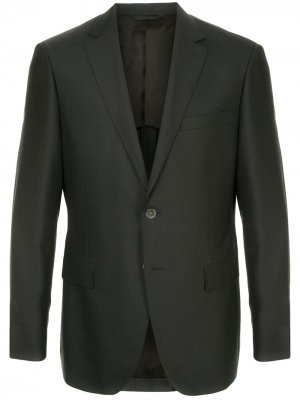 Durban пиджак с заостренными лацканами D'urban. Цвет: серый