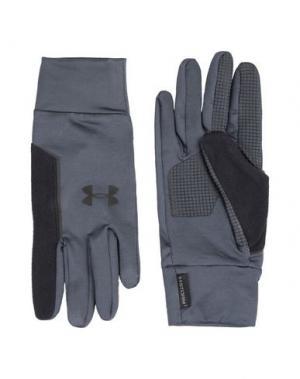 Перчатки UNDER ARMOUR. Цвет: стальной серый