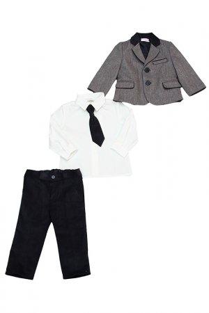 Пиджак, брюки, рубашка,галстук Bimbalo. Цвет: не указан