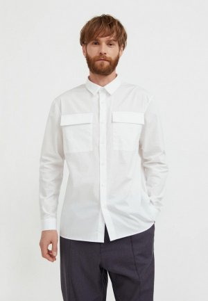 Рубашка Finn Flare. Цвет: белый