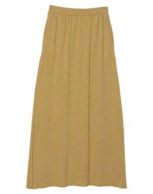 Длинная юбка AMERICAN VINTAGE. Цвет: зеленый-милитари