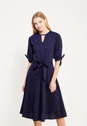 Платье LOST INK PLUS LO035EWYTZ69. Цвет: синий