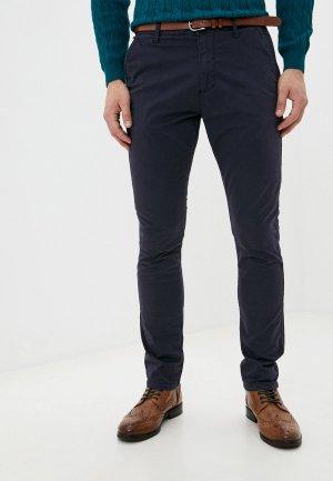 Брюки Indicode Jeans. Цвет: синий