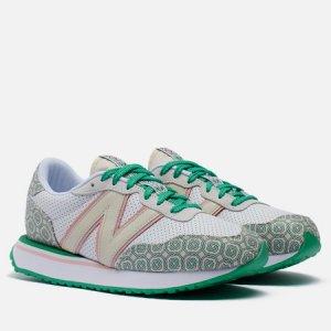 Мужские кроссовки x Casablanca 237 New Balance. Цвет: белый