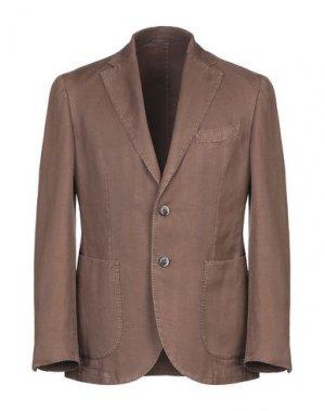 Пиджак EDDY & BROS. Цвет: коричневый