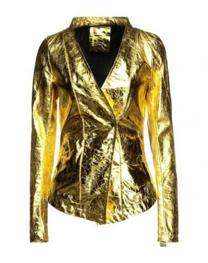 Пиджак 10SEI0OTTO. Цвет: желтый