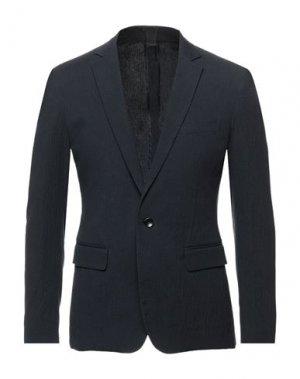 Пиджак DONDUP. Цвет: темно-синий