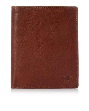 Кошелек 81443 UNI коричневый Braun Buffel. Цвет: коричневый