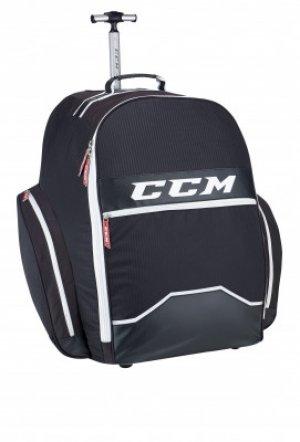 Баул хоккейный ССМ 390 Player Wheel Gear CCM. Цвет: черный