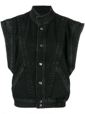 Джинсовая куртка Givenchy. Цвет: черный