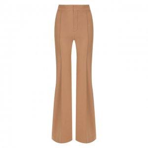 Расклешенные брюки Chloé. Цвет: бежевый
