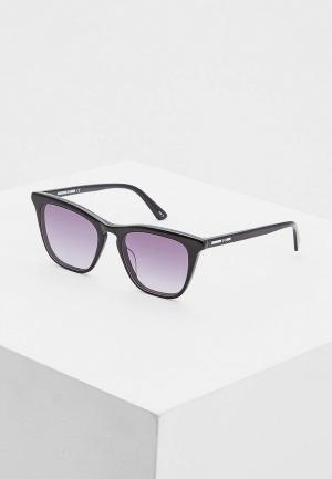Очки солнцезащитные McQ Alexander McQueen MQ0168S001. Цвет: черный