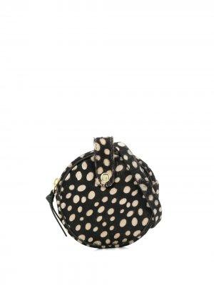 Поясная сумка в горох Antik Batik. Цвет: коричневый
