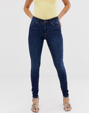 Зауженные джинсы -Синий Pieces