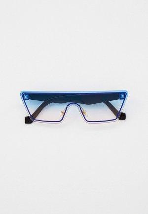 Очки солнцезащитные Bocciolo. Цвет: синий