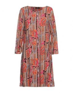 Короткое платье TANTRA. Цвет: фуксия
