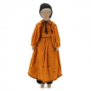 Кукла Kilometre Paris. Цвет: оранжевый