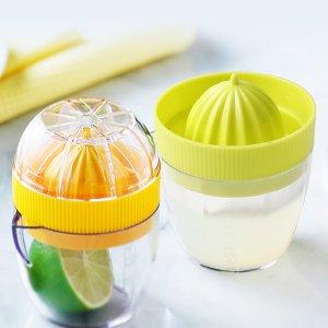 1шт лимонная соковыжималка случайного цвета SHEIN. Цвет: многоцветный