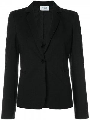 Приталенный пиджак Akris Punto. Цвет: черный