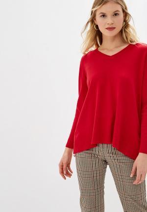 Пуловер Bluoltre. Цвет: красный