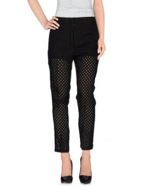 Повседневные брюки 8PM. Цвет: черный