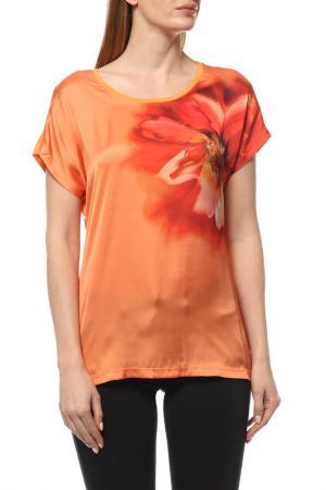 Топ Basler. Цвет: оранжевый