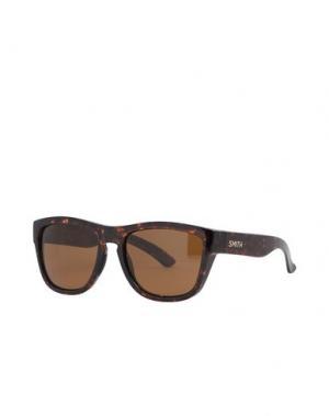 Солнечные очки SMITH. Цвет: темно-коричневый