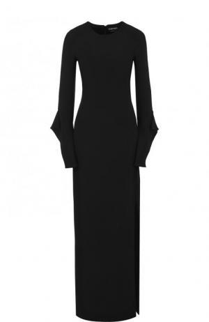 Шелковое платье Tom Ford. Цвет: чёрный