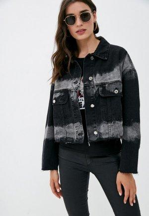 Куртка джинсовая Missguided. Цвет: черный