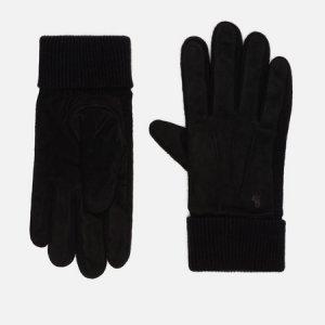 Перчатки Suede/Merino Sandwich Polo Ralph Lauren. Цвет: чёрный