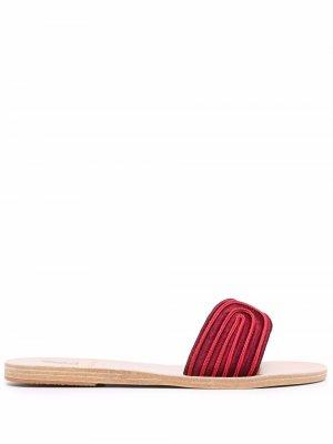 Harness 10mm slides Ancient Greek Sandals. Цвет: красный