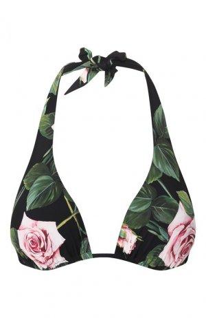 Треугольный бра Dolce & Gabbana. Цвет: черный