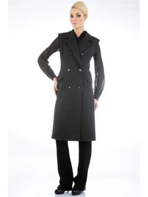 Пальто Levall. Цвет: черный