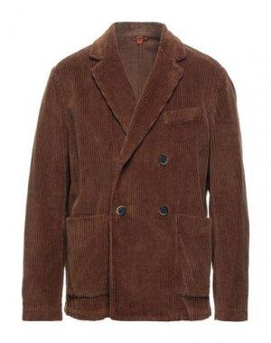 Пиджак BARENA. Цвет: коричневый
