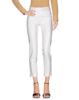 Повседневные брюки G.SEL. Цвет: белый