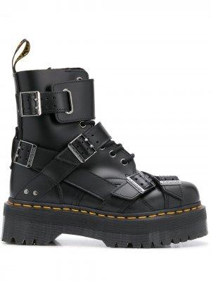 Ботинки Jadon 40 с ремешками Dr. Martens. Цвет: черный