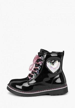 Ботинки Honey Girl. Цвет: черный