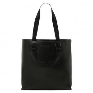 Кожаная сумка-шопер Antigona Givenchy. Цвет: чёрный