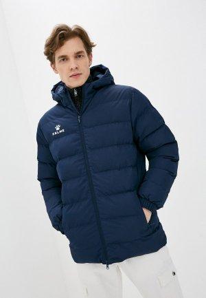 Куртка утепленная Kelme Hooded short cotton coat. Цвет: синий