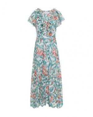 Длинное платье ANTIK BATIK. Цвет: грифельно-синий