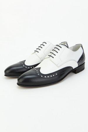 Туфли Bouton. Цвет: черный, белый