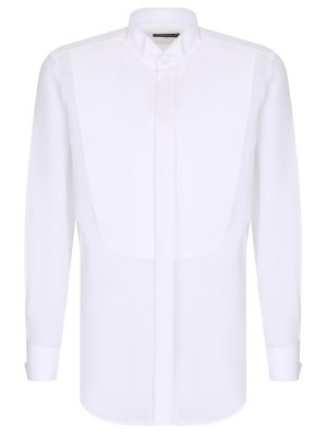 Сорочка под смокинг CANALI. Цвет: белый