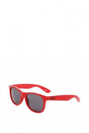 Очки солнцезащитные Vans. Цвет: красный