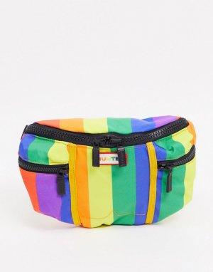 Сумка-кошелек на пояс с разноцветным принтом Original Pride-Мульти Hunter