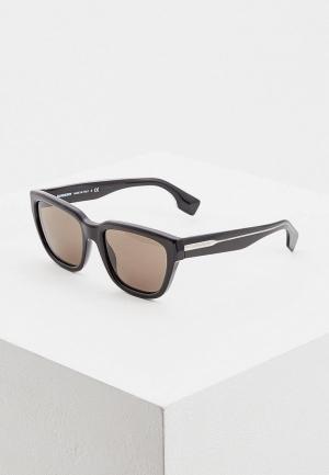 Очки солнцезащитные Burberry BE4277 3758/3. Цвет: черный